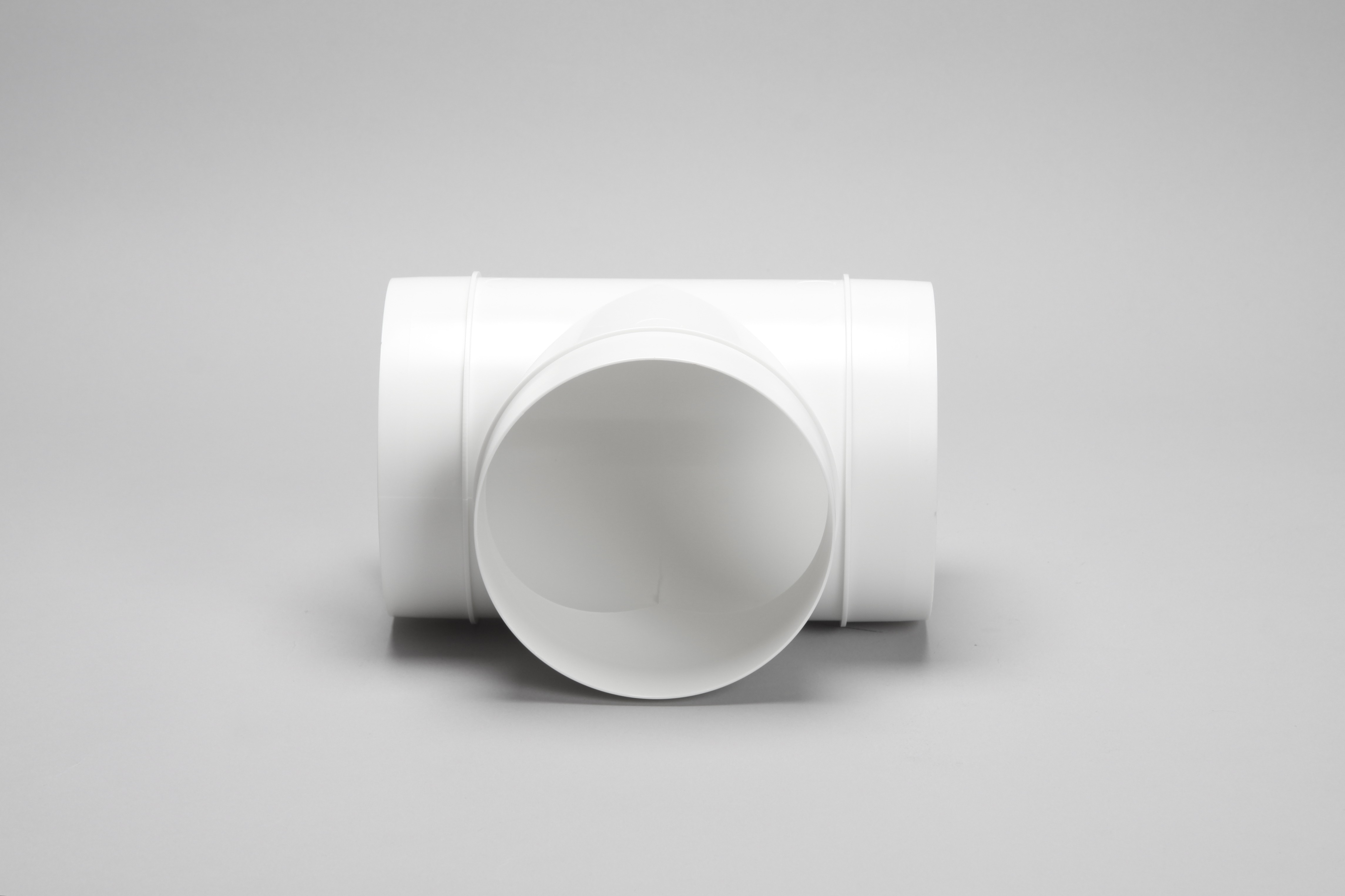 150mm round ducting pipe equal T piece