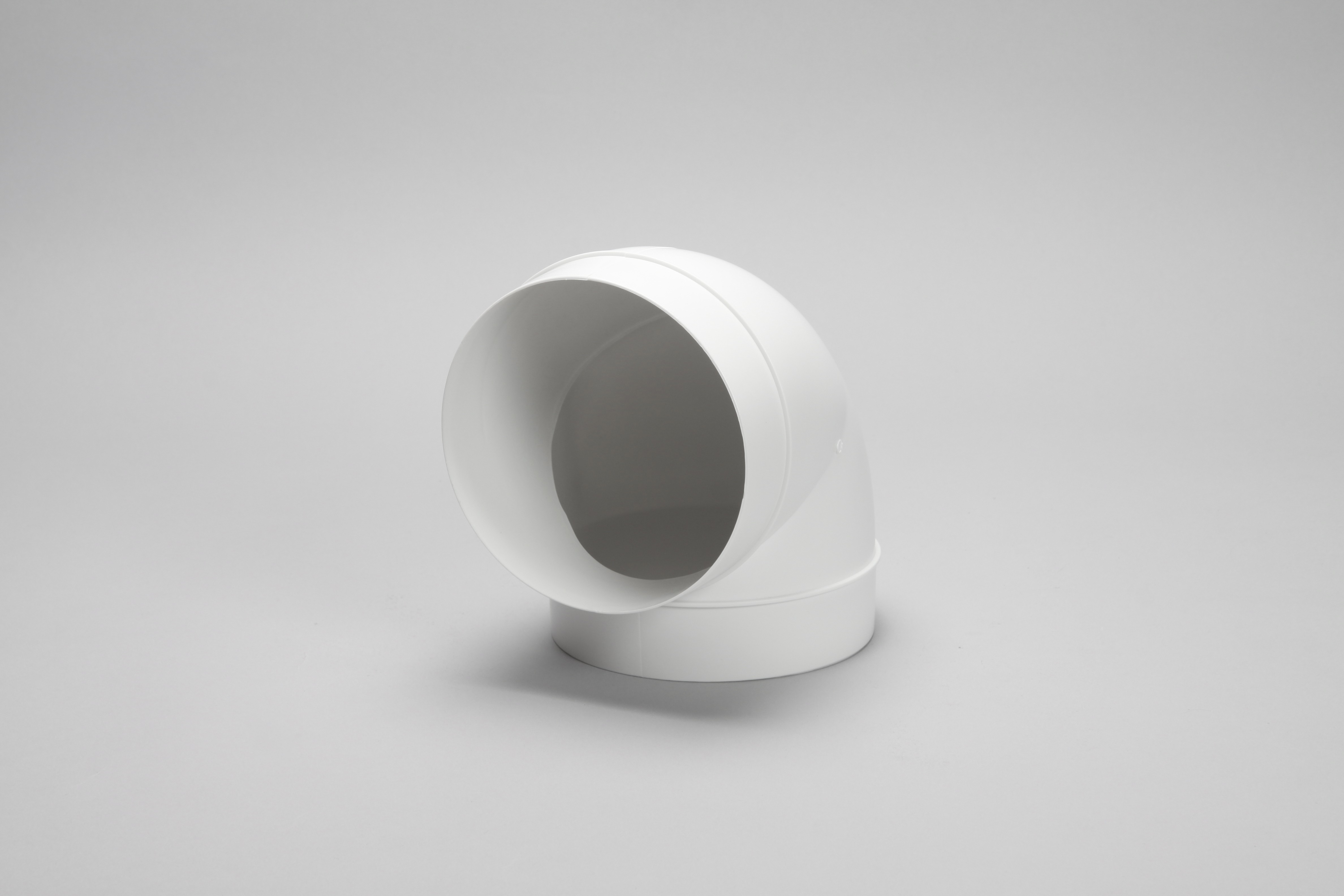 150mm round ducting pipe 90 degree angle bend