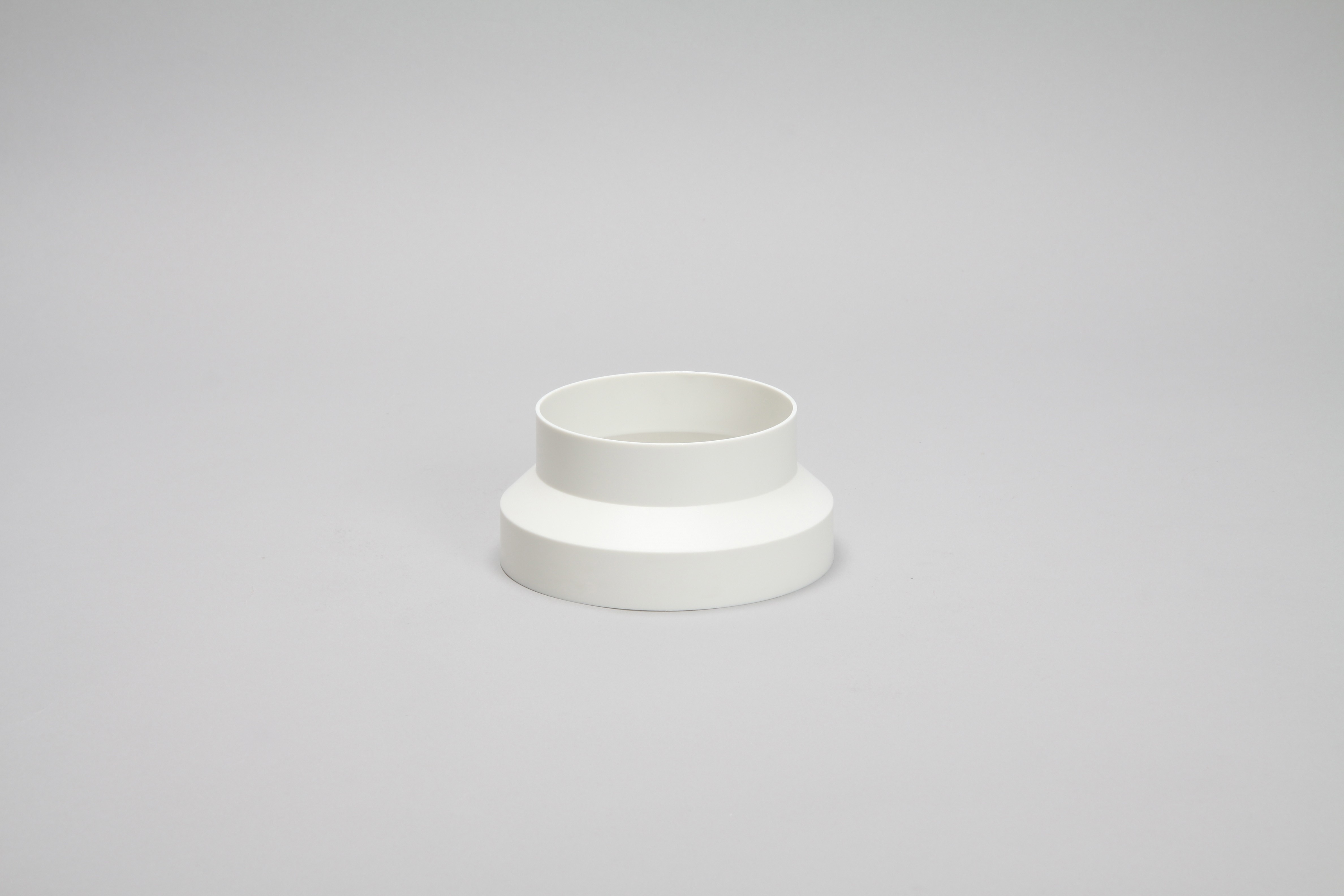 200mm to 150mm domed ducting adaptor