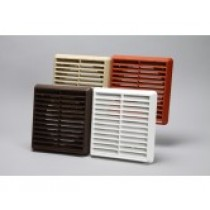150mm ducting vent grille louvred round spigot